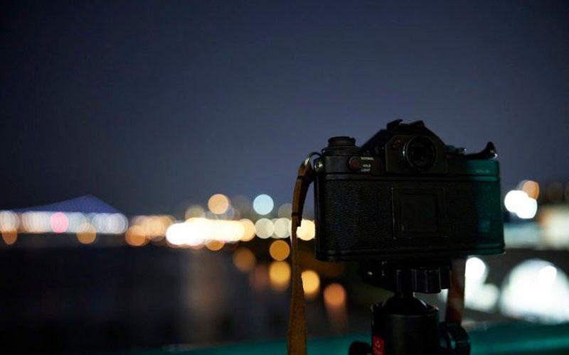 عکاسی خیابانی در شب